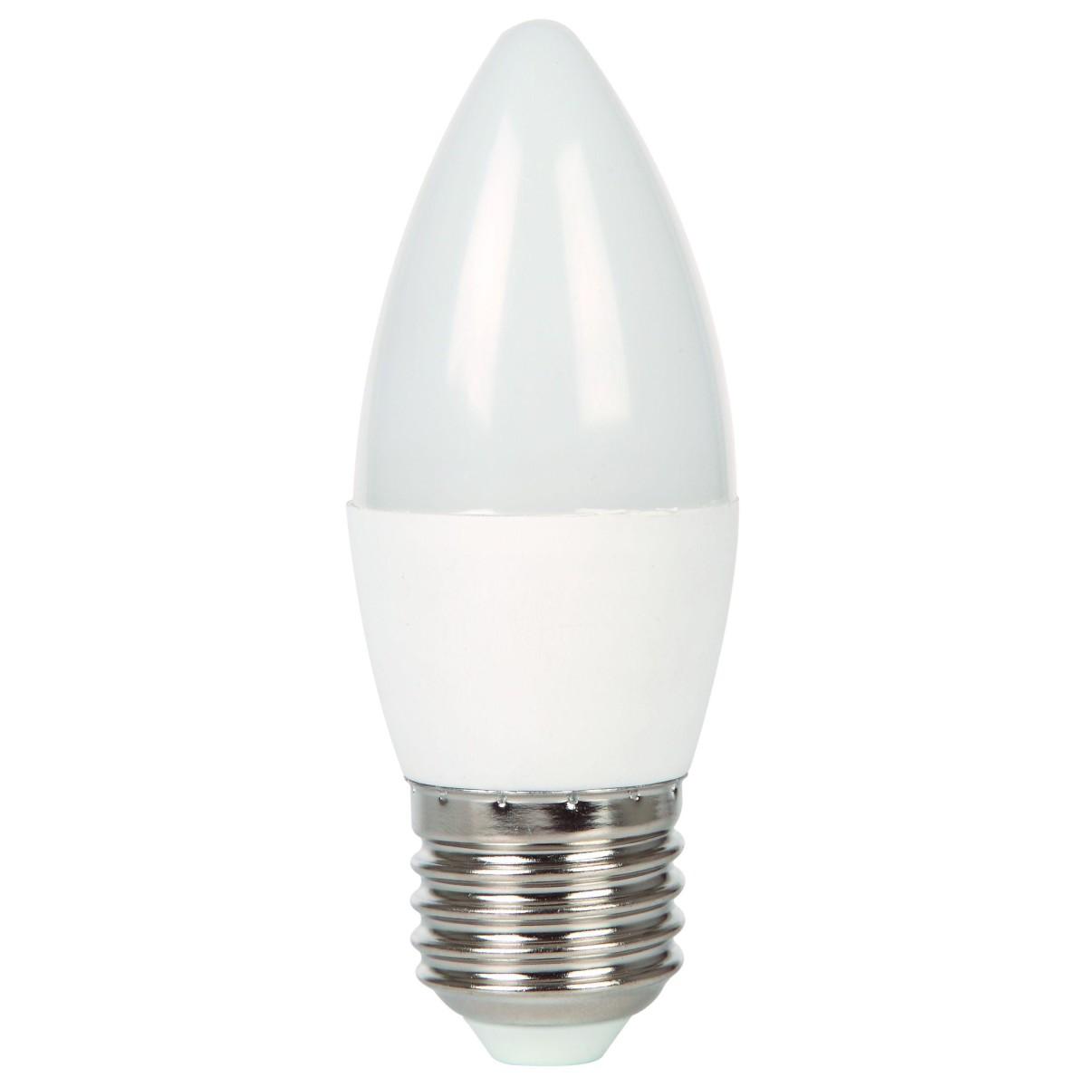 Лампа Ecola light светодионая E27 6 Вт свеча 420 Лм нейтральный свет