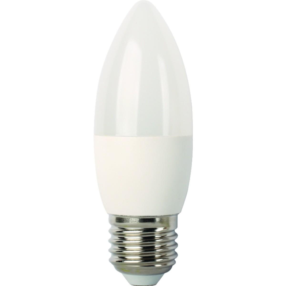 Лампа Ecola light светодионая E27 5 Вт свеча 400 Лм теплый свет