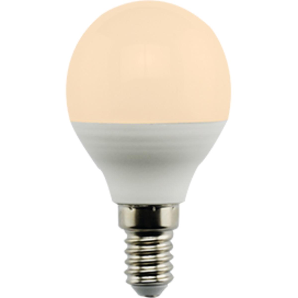 Лампа Ecola Premium светодионая E14 7 Вт шар 560 Лм теплый свет