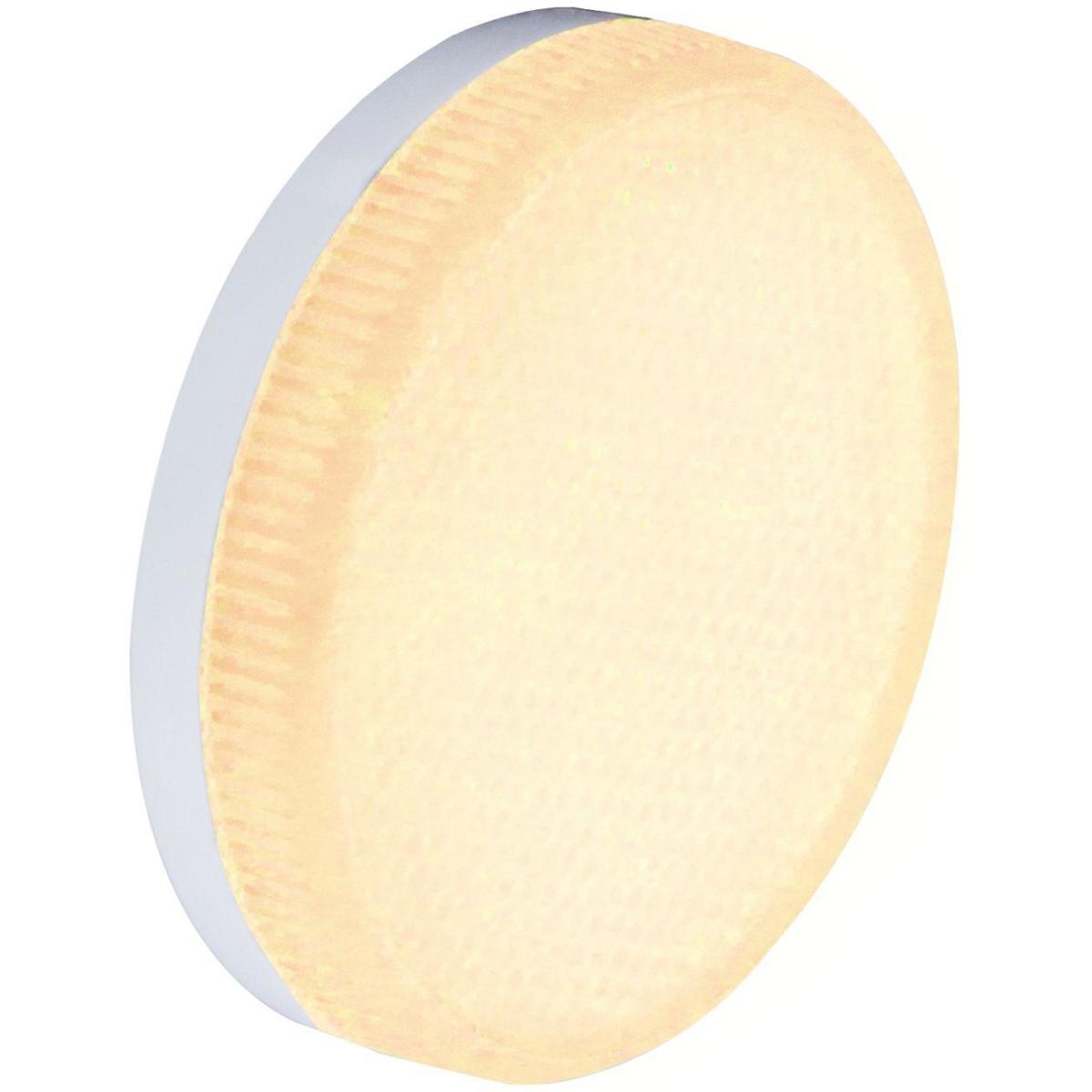 Лампа Ecola Premium светодионая GX53 10 Вт таблетка 900 Лм теплый свет