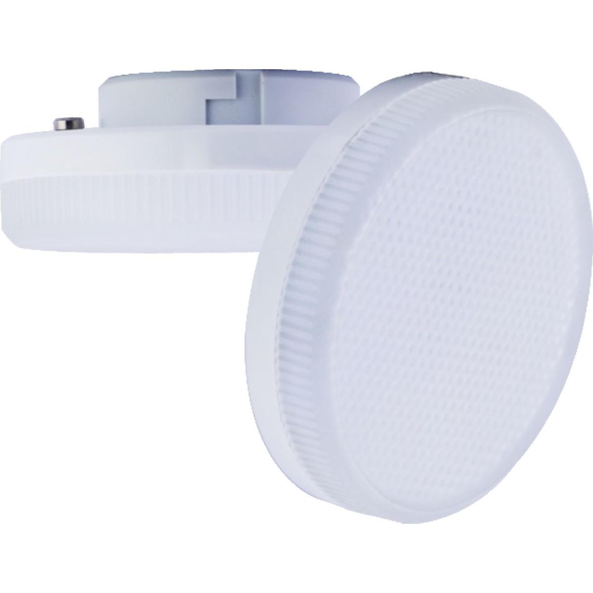 Лампа Ecola light GX53 8 Вт таблетка 640 Лм теплый 10 шт