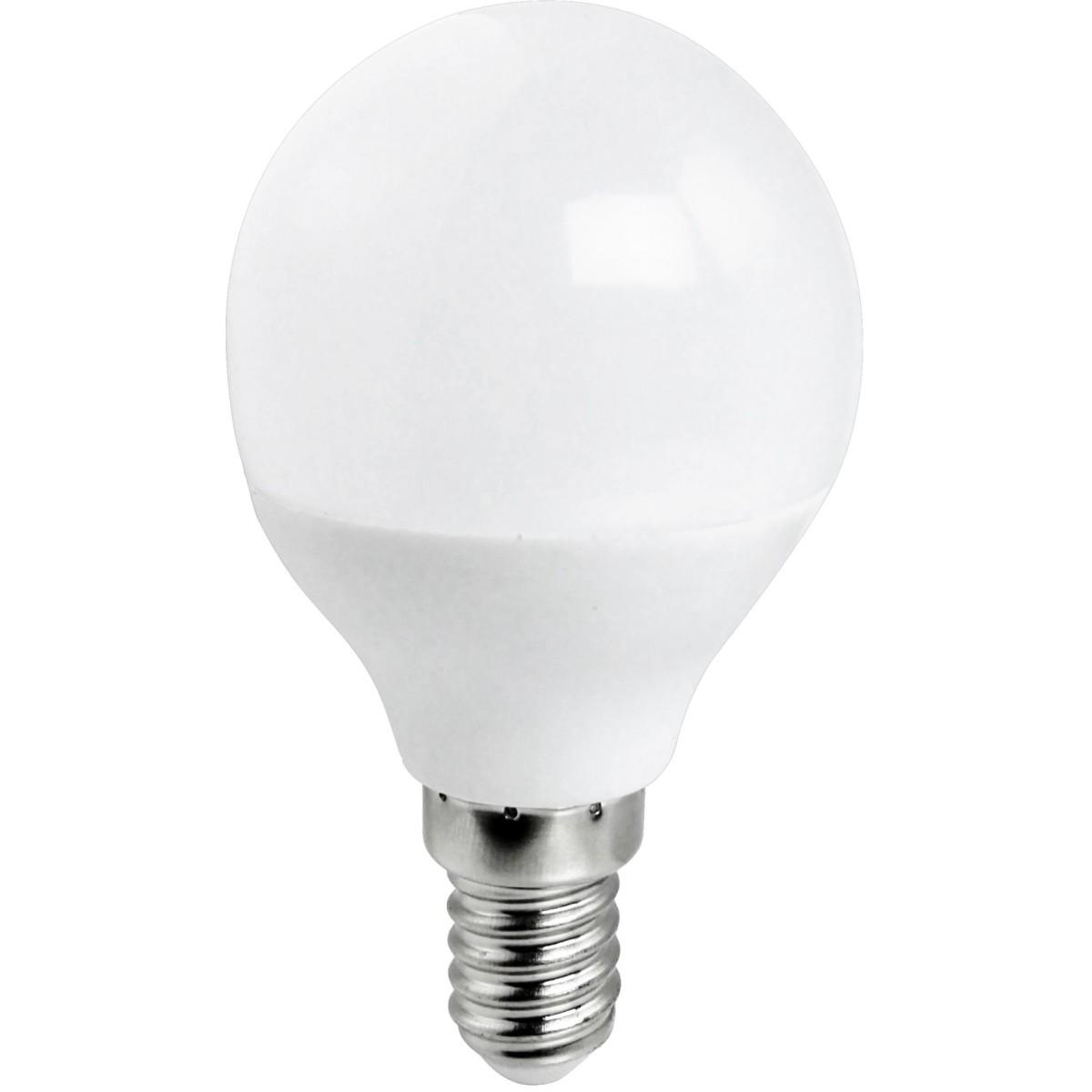 Лампа Ecola light E14 7 Вт шар 560 Лм нейтральный 4 шт