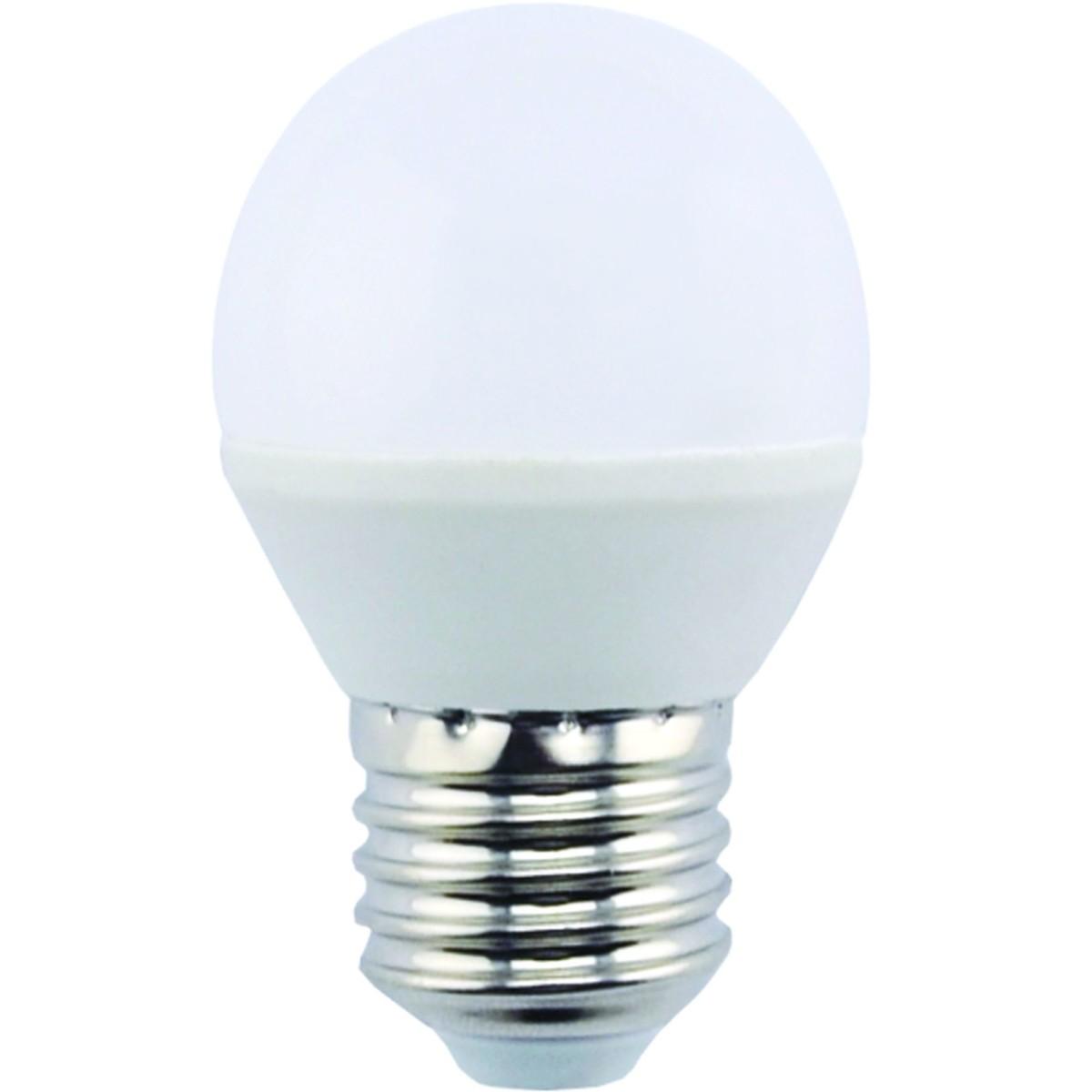Лампа Ecola light светодионая E27 4 Вт шар 260 Лм нейтральный свет