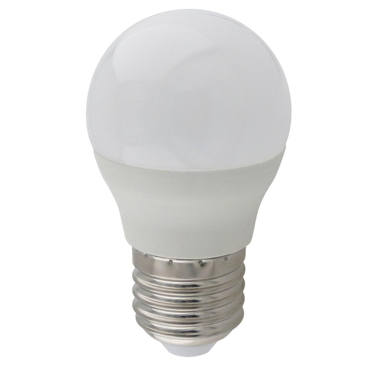 Лампа Ecola light E27 7 Вт шар 560 Лм нейтральный 4 шт