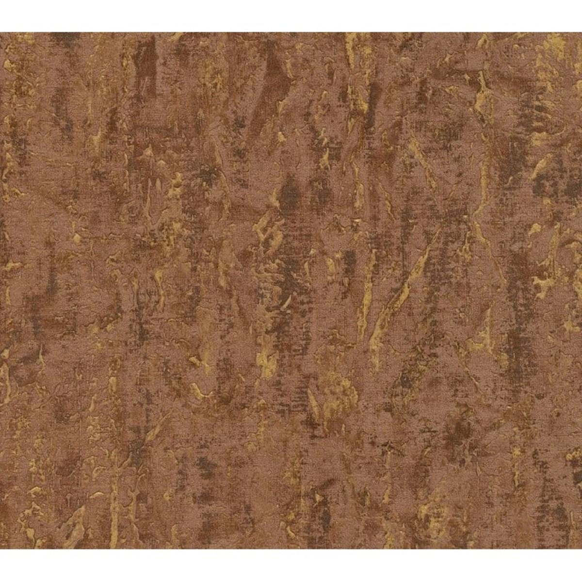 Обои флизелиновые Limonta Italian Wall Couture AURUM коричневые 1.06 м 56309