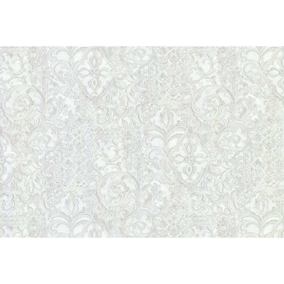 Обои флизелиновые Esedra IMPERATRICE белые 1.06 м 46104