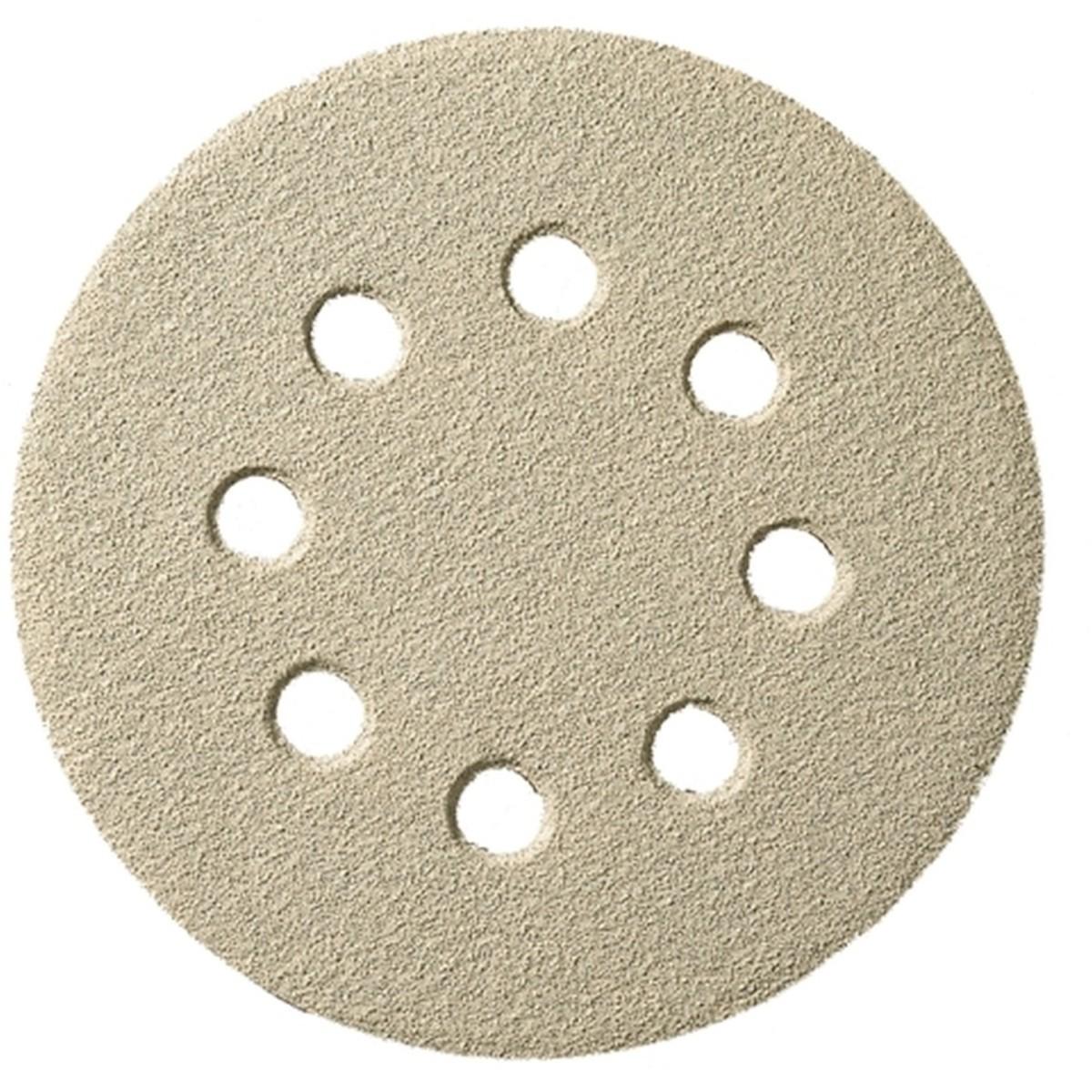 Шлифовальный круг самозацепляемый Klingspor PS 33 BK 125 мм P180 8 отверстий 147837 100 шт