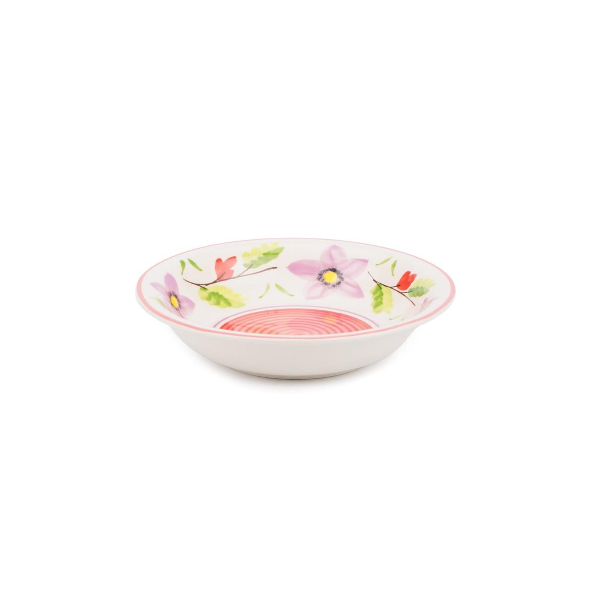 Тарелка суповая FIORETTA Flower Fantasy TDP022