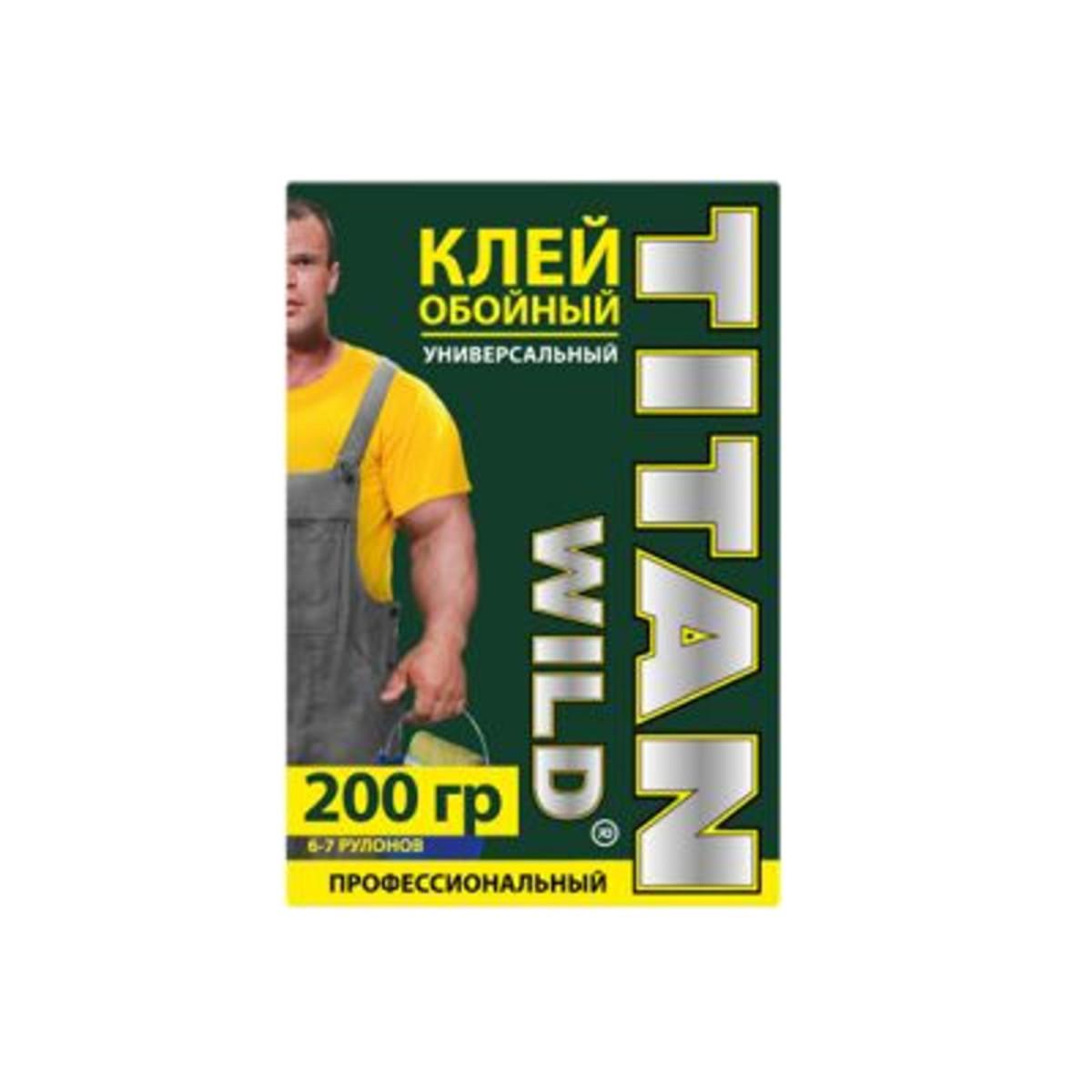Клей для флизелиновых обоев Titan Wild TWUni-200 40 м²