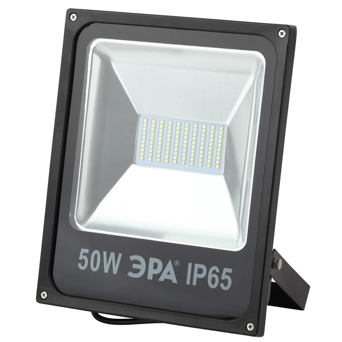 Прожектор уличный светодиодный Эра Стандарт Б0017302 6500 К 50 Вт IP78 3500 Лм