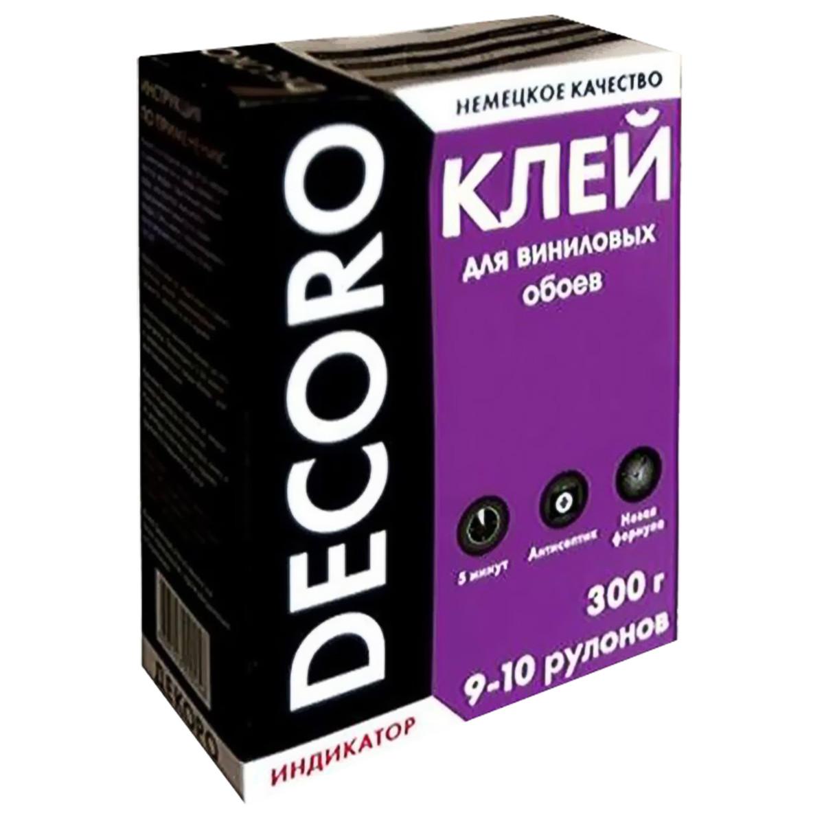 Клей для виниловых обоев Decoro 110-300 50 м²