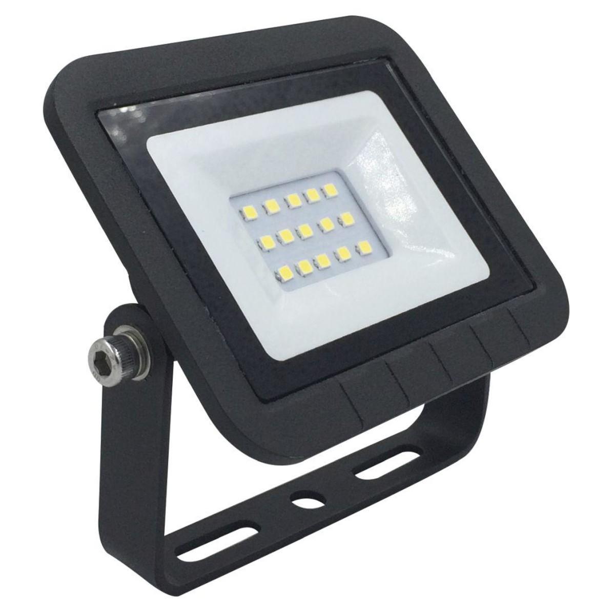 Прожектор уличный светодиодный Ecola Light JPQV10ELB 4200 К 10 Вт IP65