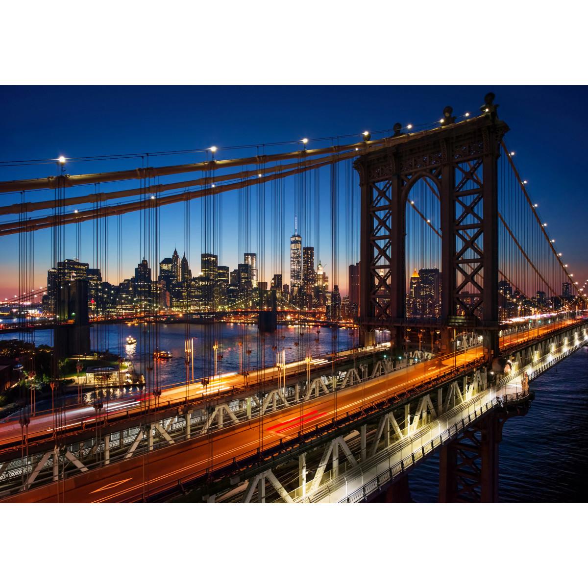 Фотообои Мир Ночной мост MIR-2008-V22 190х135 см