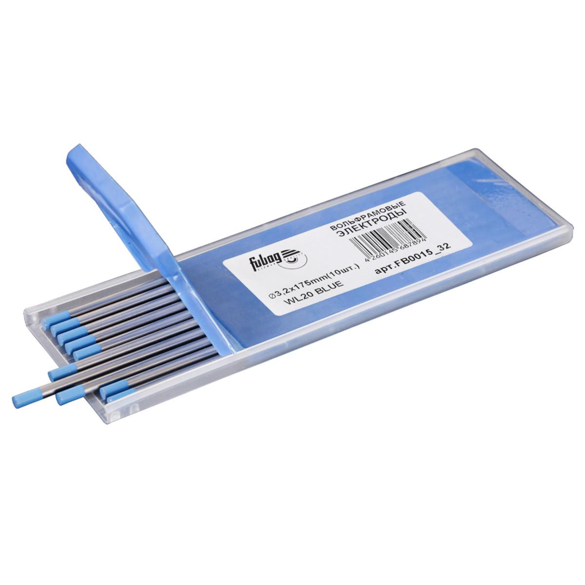 Вольфрамовые электроды Fubag D3.2x175мм (blue)_WL20 FB0015_32