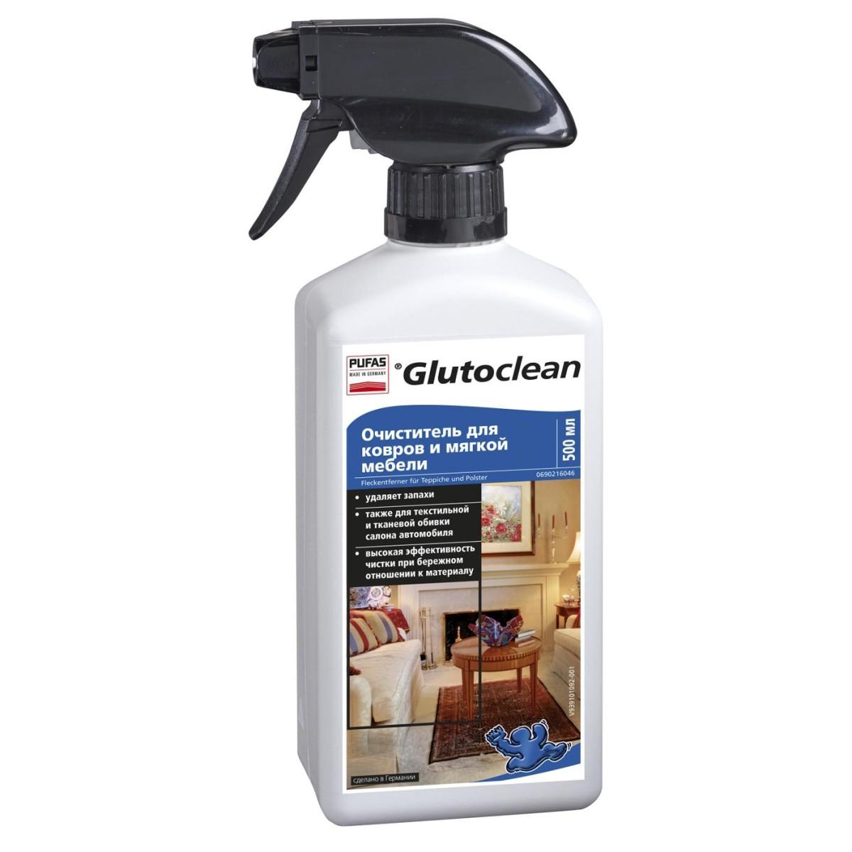 Очиститель для ковров и мягкой мебели Pufas 0.5 л