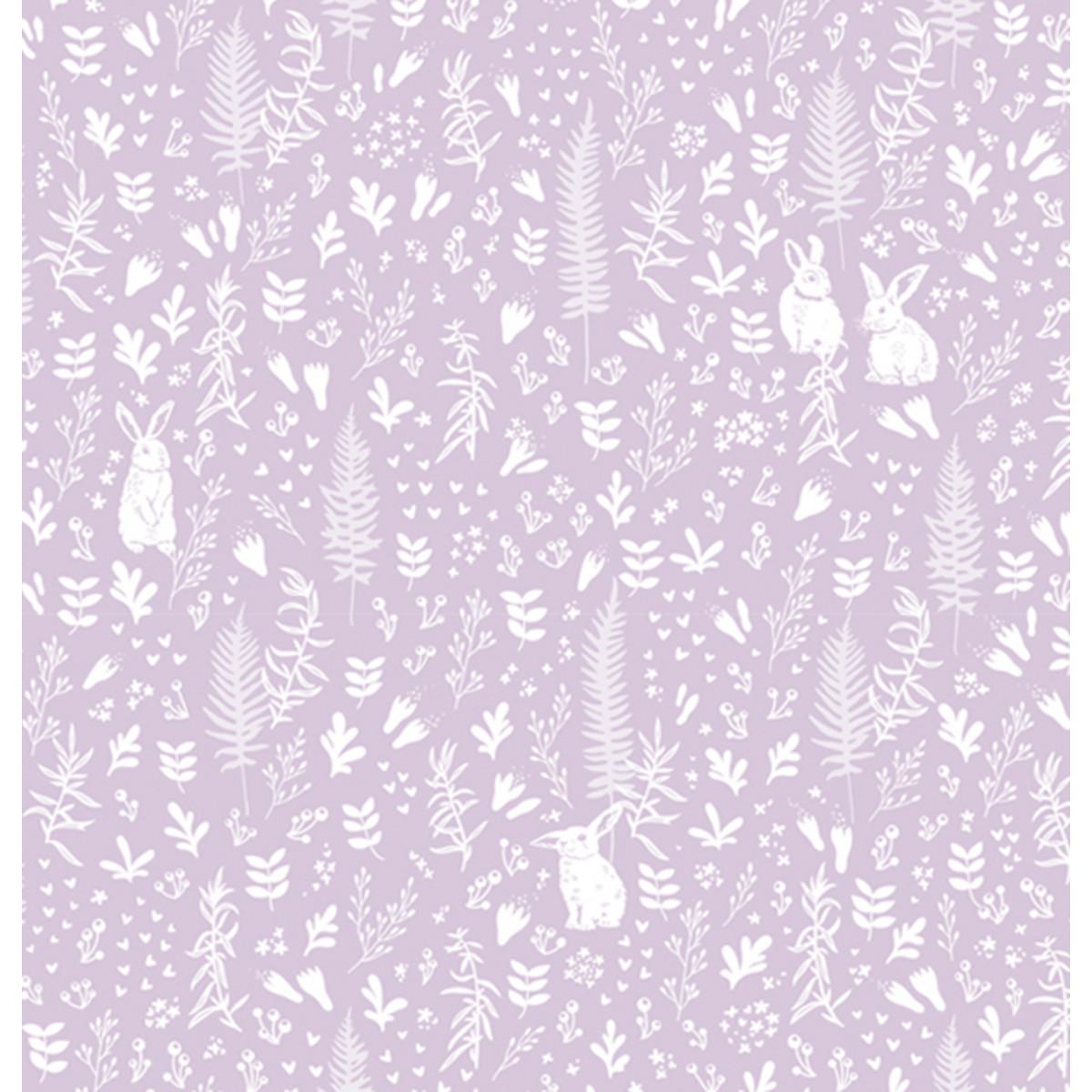Обои виниловые Gaenari фиолетовые 1.06 м A5103-2