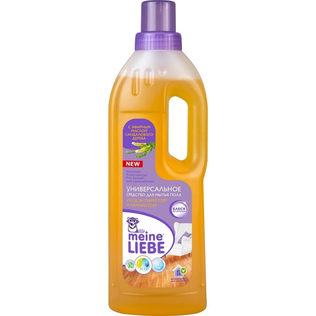 Гель для мытья полов Meine Liebe Ламинат и Паркет 0.75 л