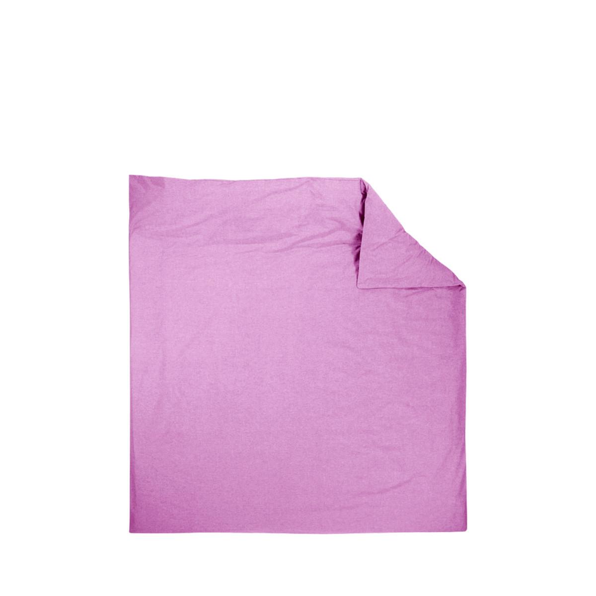 Пододеяльник Deнастия Базовая Коллекция Сатин 180Х215 Розовый