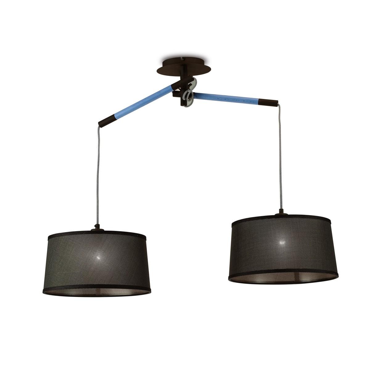 Люстра Mantra Nordica 4931 2 ламп 9 м²