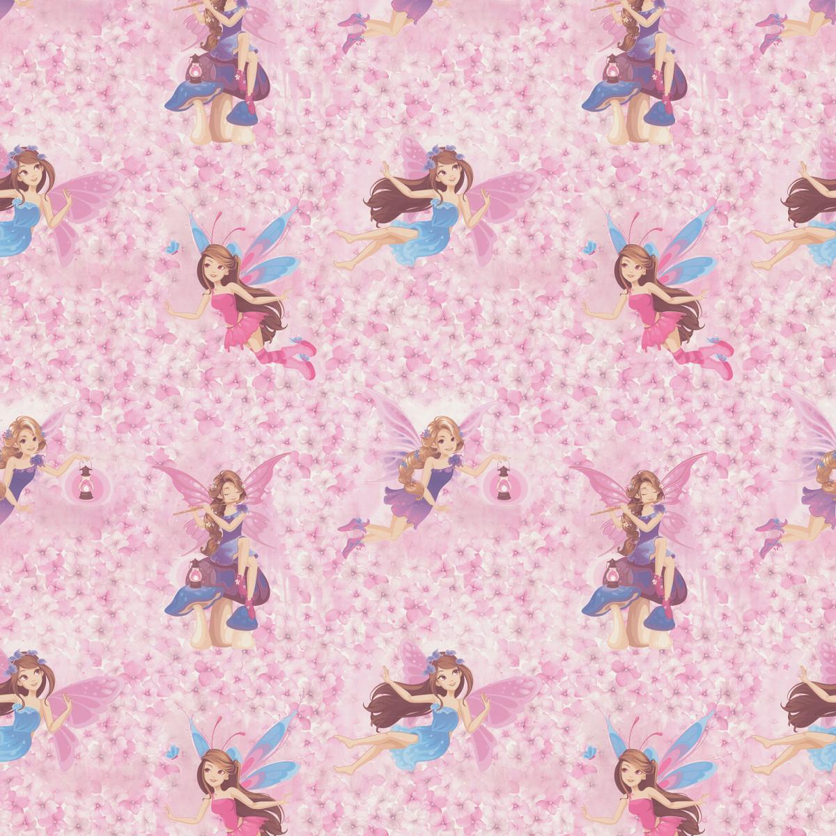 Обои флизелиновые Палитра розовые 1.06 м PL71240-15
