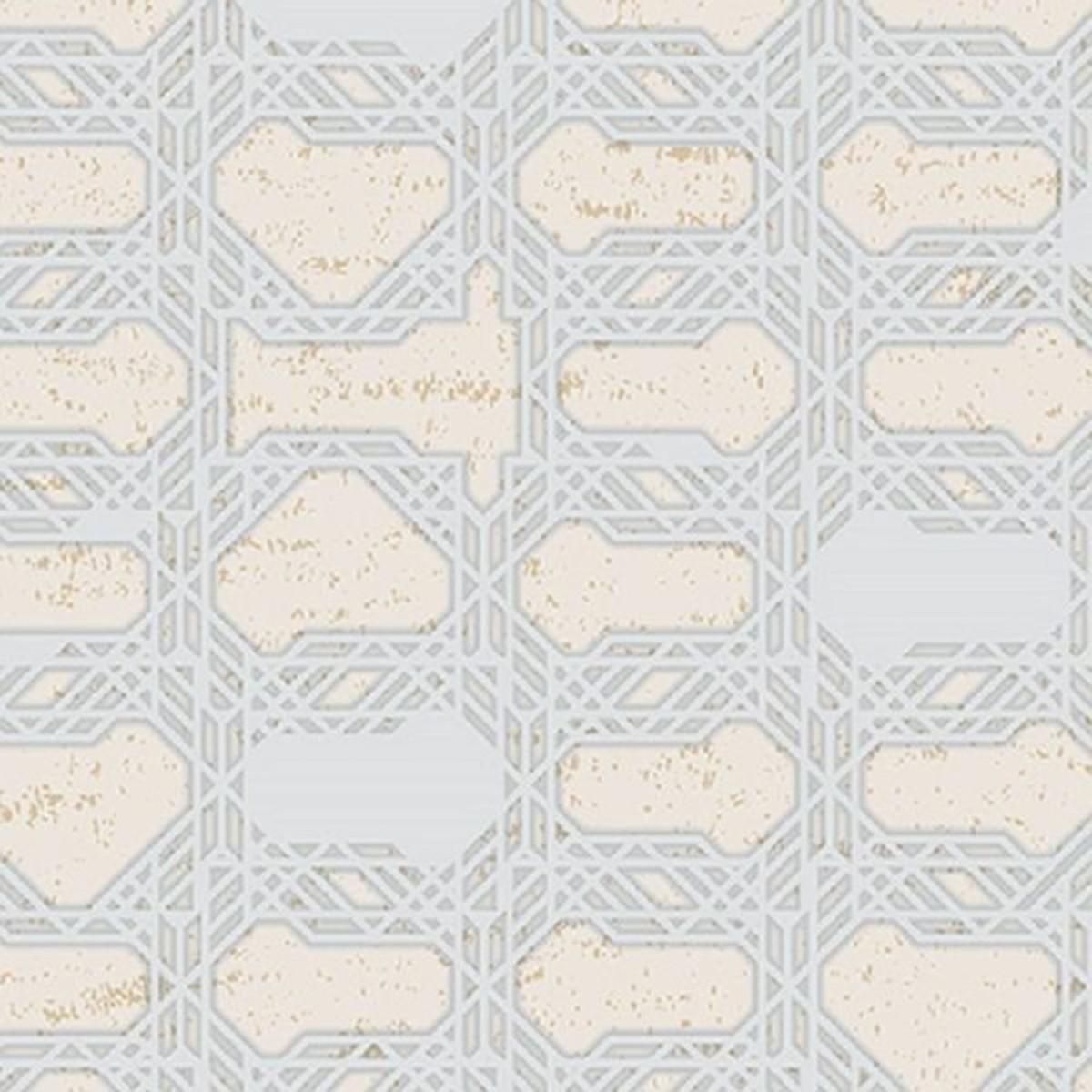 Обои виниловые Gaenari серебряные 1.06 м 81110-3