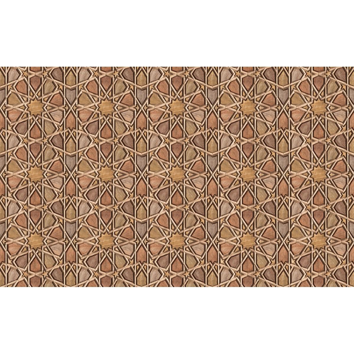 Обои виниловые Shinhan Wallcoverings коричневые 1.06 м 88341-3