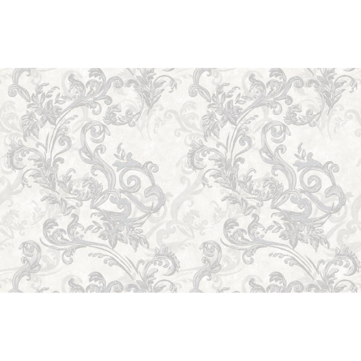Обои виниловые Shinhan Wallcoverings белые 1.06 м 88364-1