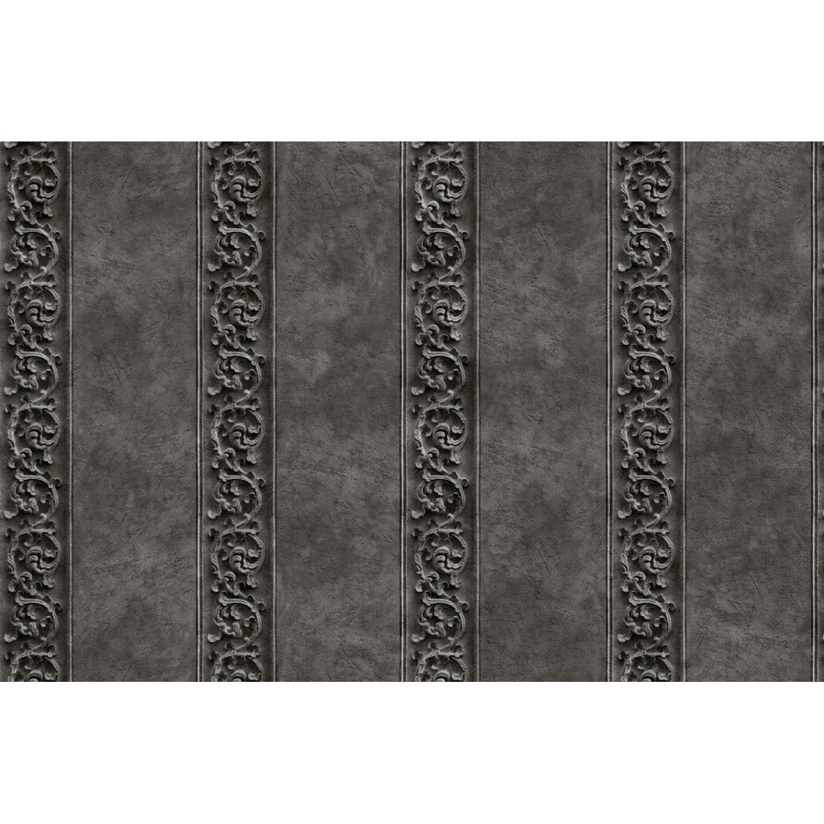 Обои виниловые Shinhan Wallcoverings серые 1.06 м 88365-3