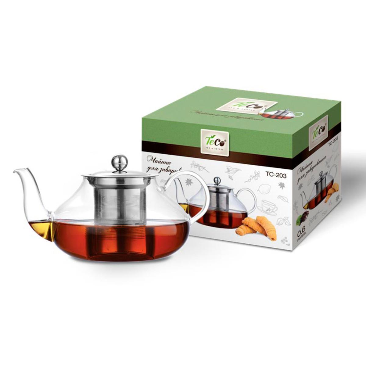 Заварочный чайник Teco TС-203 0.6 л
