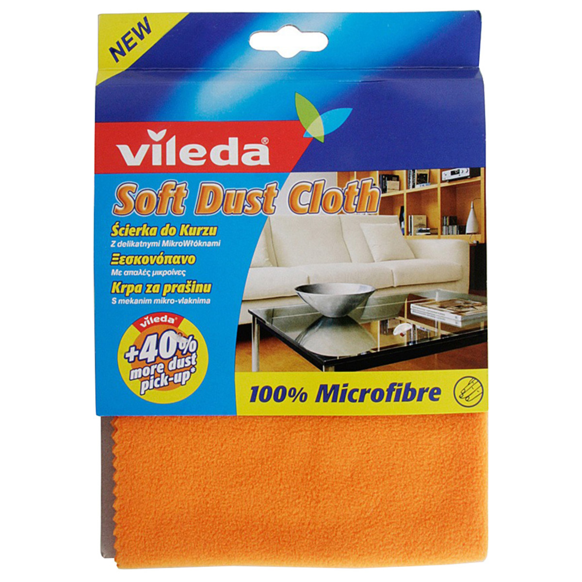 Салфетки для уборки Vileda 22.5х16 см 1 шт