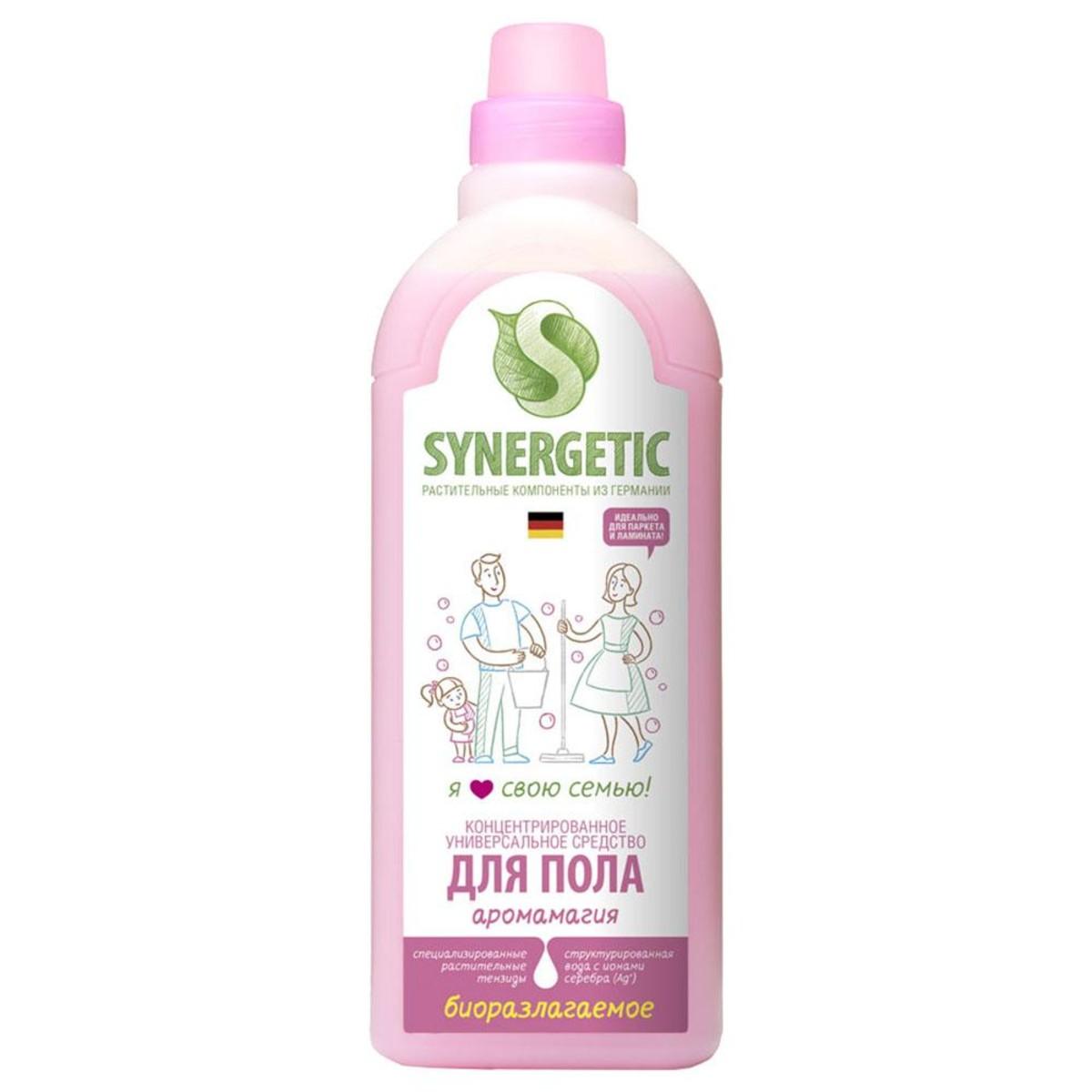 Средство для мытья полов Synergetic Аромагия 0.75 л 101756