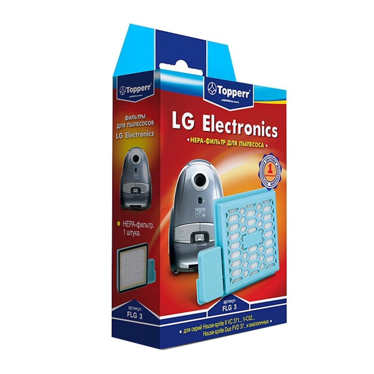 HEPA-фильтр Topperr FLG 3 для пылесосов LG Electronics