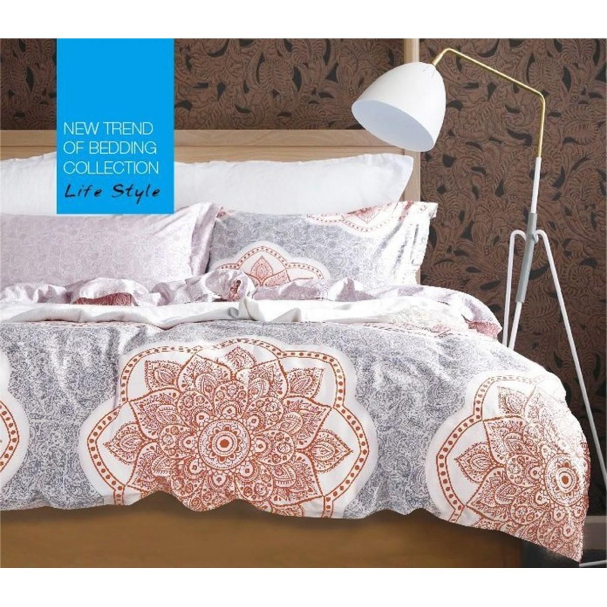 Комплект постельного белья двуспальный Tango Novella сатин 50x70 см