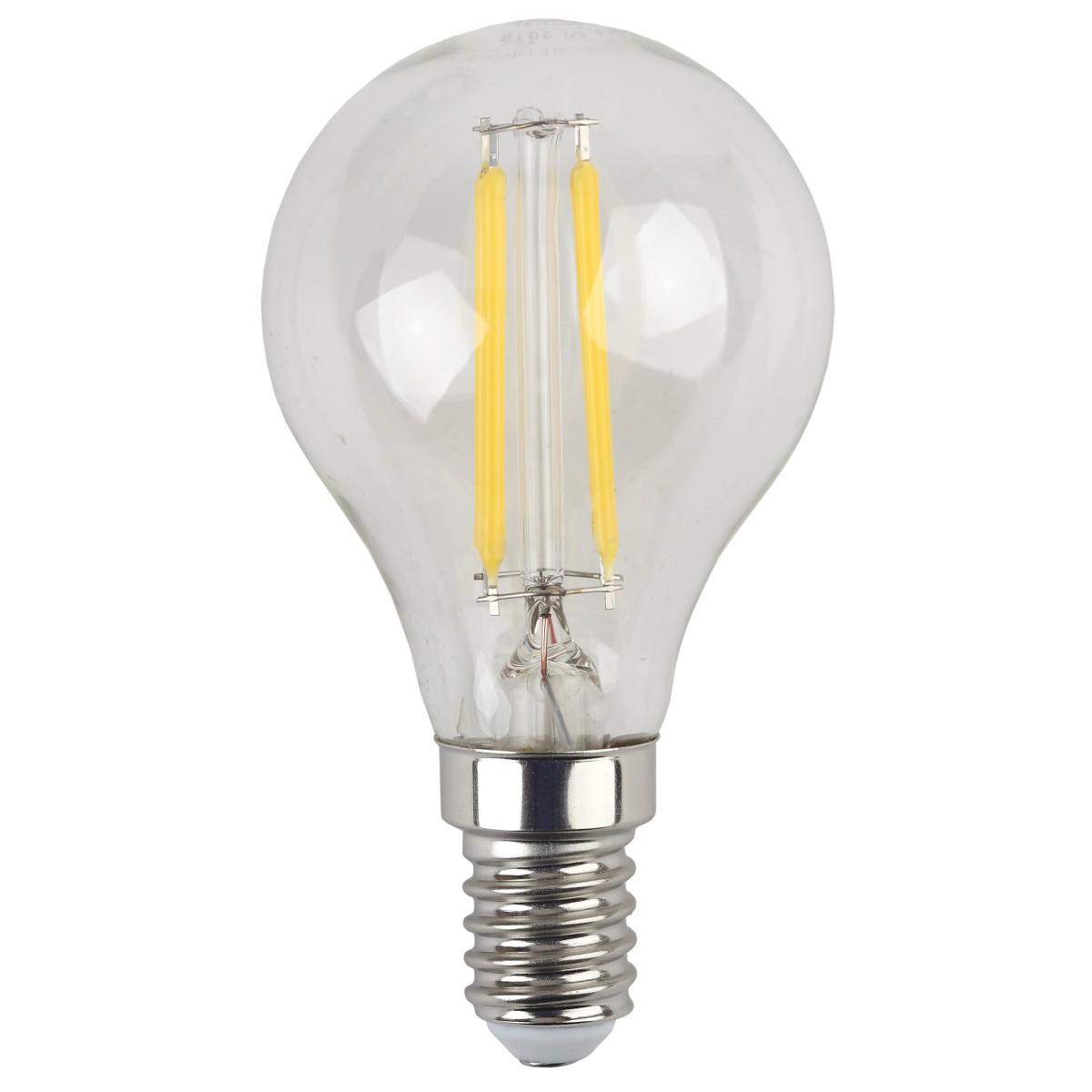 Лампа Эра  E14 5 Вт шар 545 Лм нейтральный