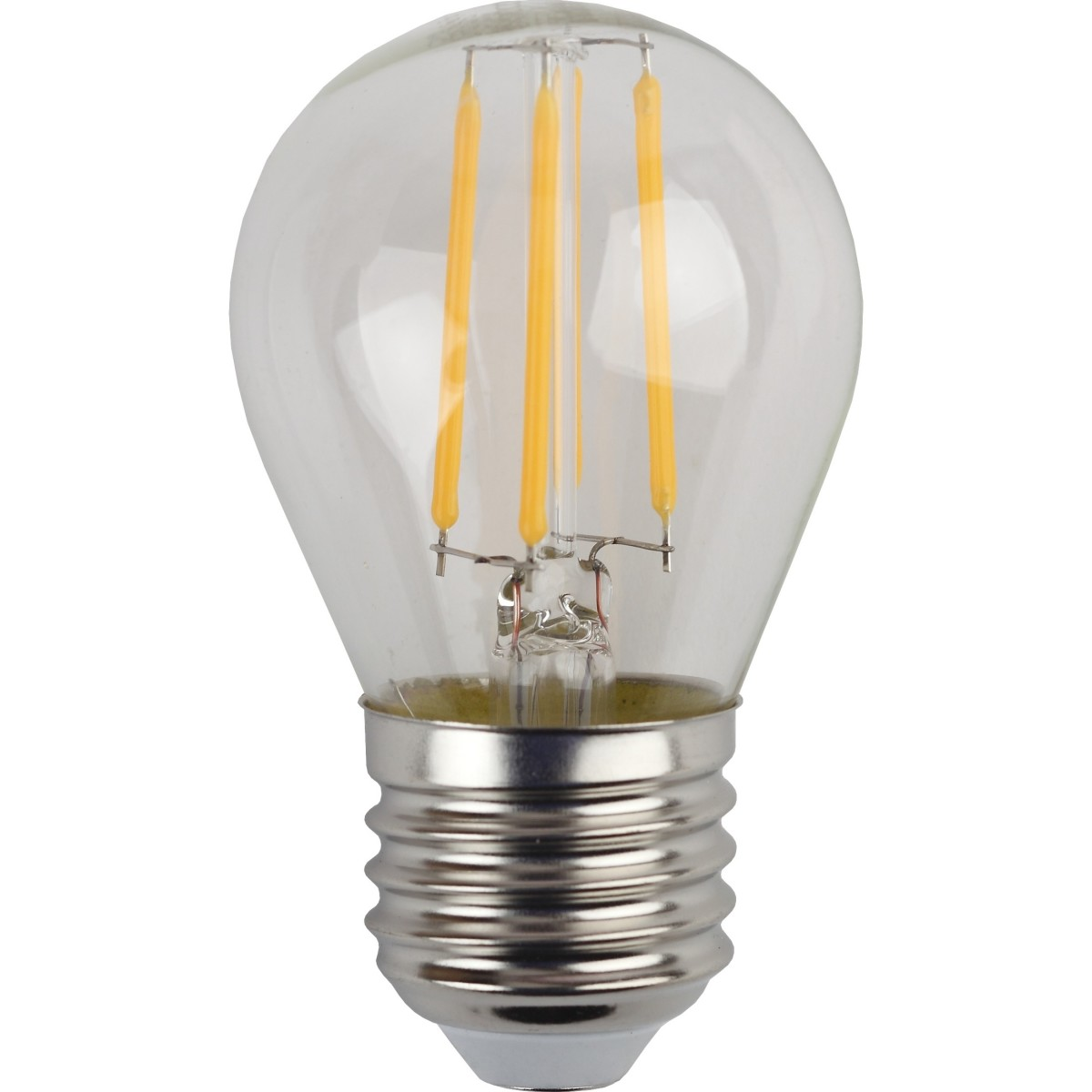 Лампа Эра  5 Вт шар 515 Лм теплый