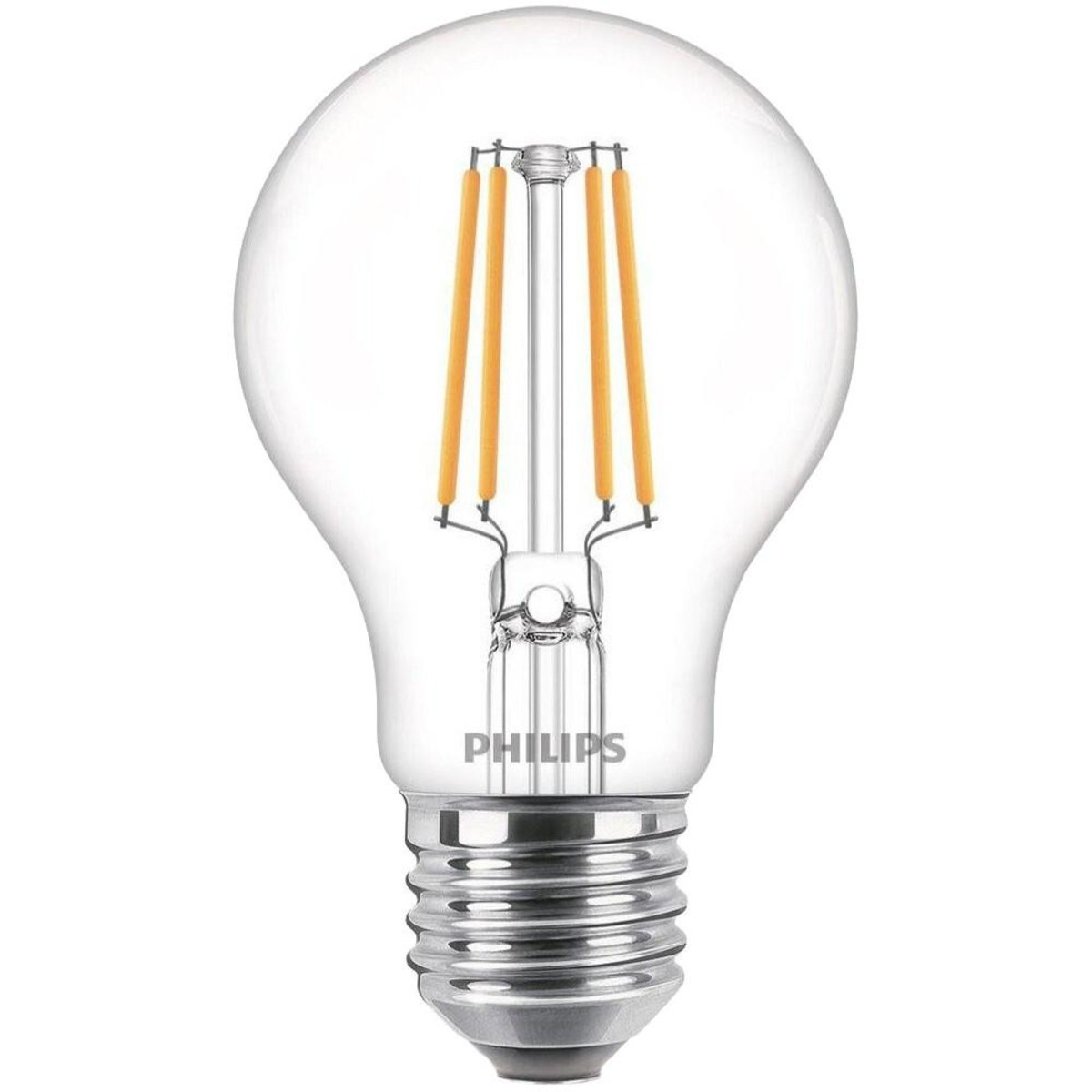 Лампа Philips  E27 6 Вт груша 380 Лм теплый для диммера