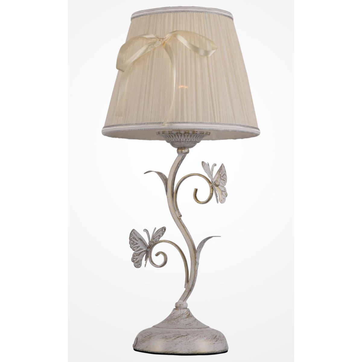 Лампа настольная рабочая Rivoli Fartalla Б0038413 цвет бежевый