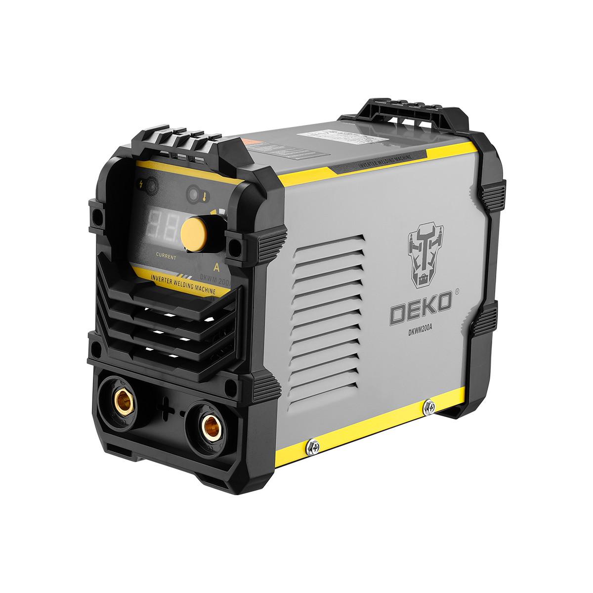 Дуговой Сварочный Инвертор Deko Dkwm200a 200 А До 5 051-4670