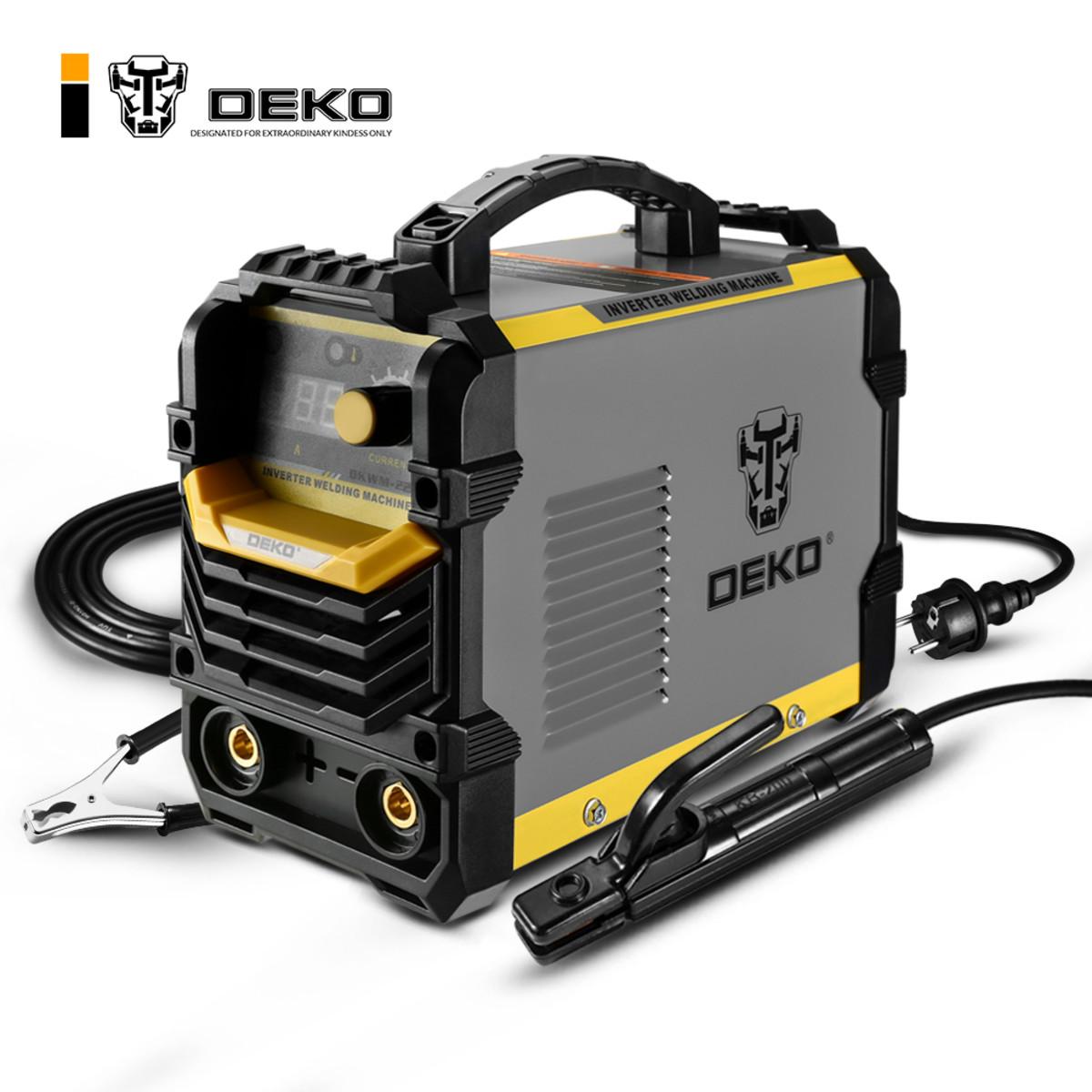Дуговой сварочный инвертор DEKO DKWM220A 220 А до 5 мм 051-4672