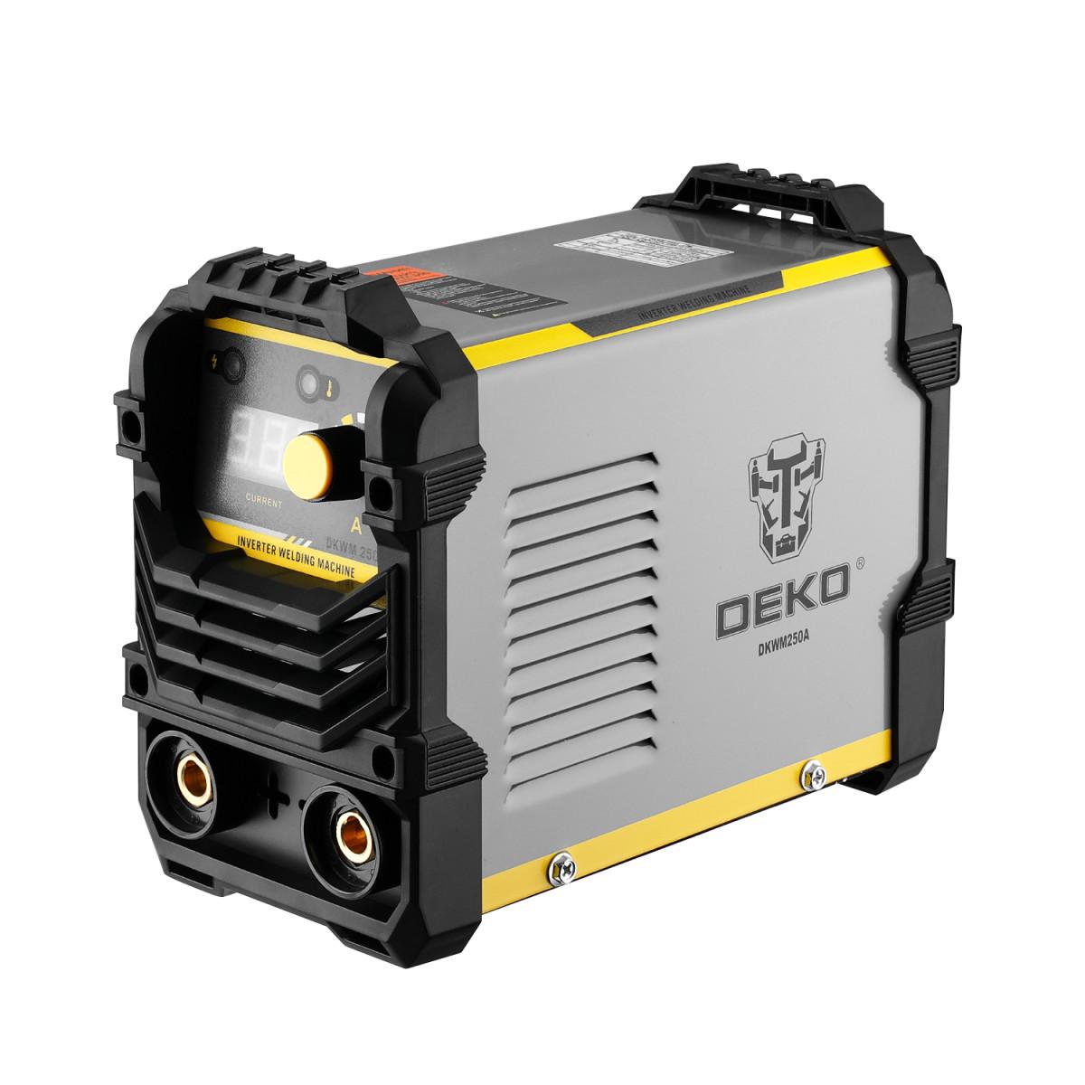 Дуговой сварочный инвертор DEKO DKWM250A 250 А до 5 мм 051-4674