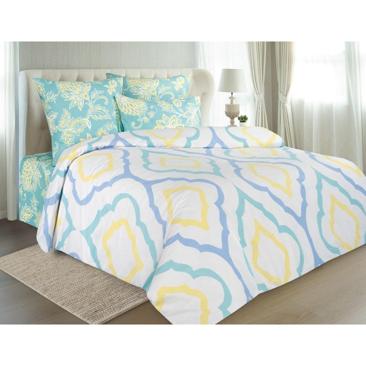 Комплект постельного белья полутораспальный GUTEN MORGEN  Сканди поплин 70x70 см