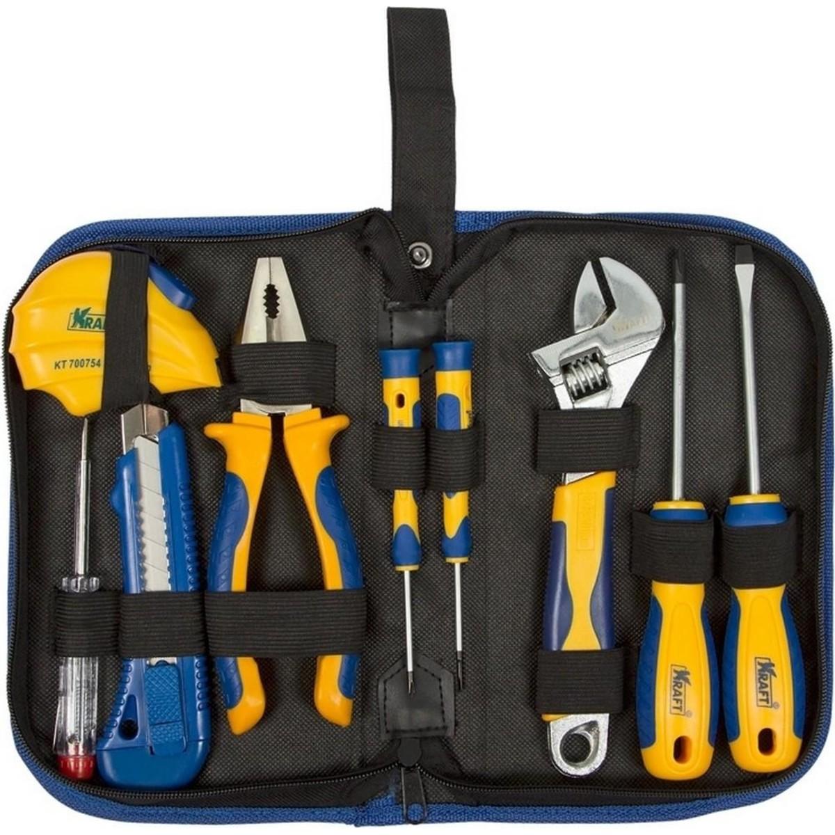 Набор ручного инструмента Kraft KT 703000