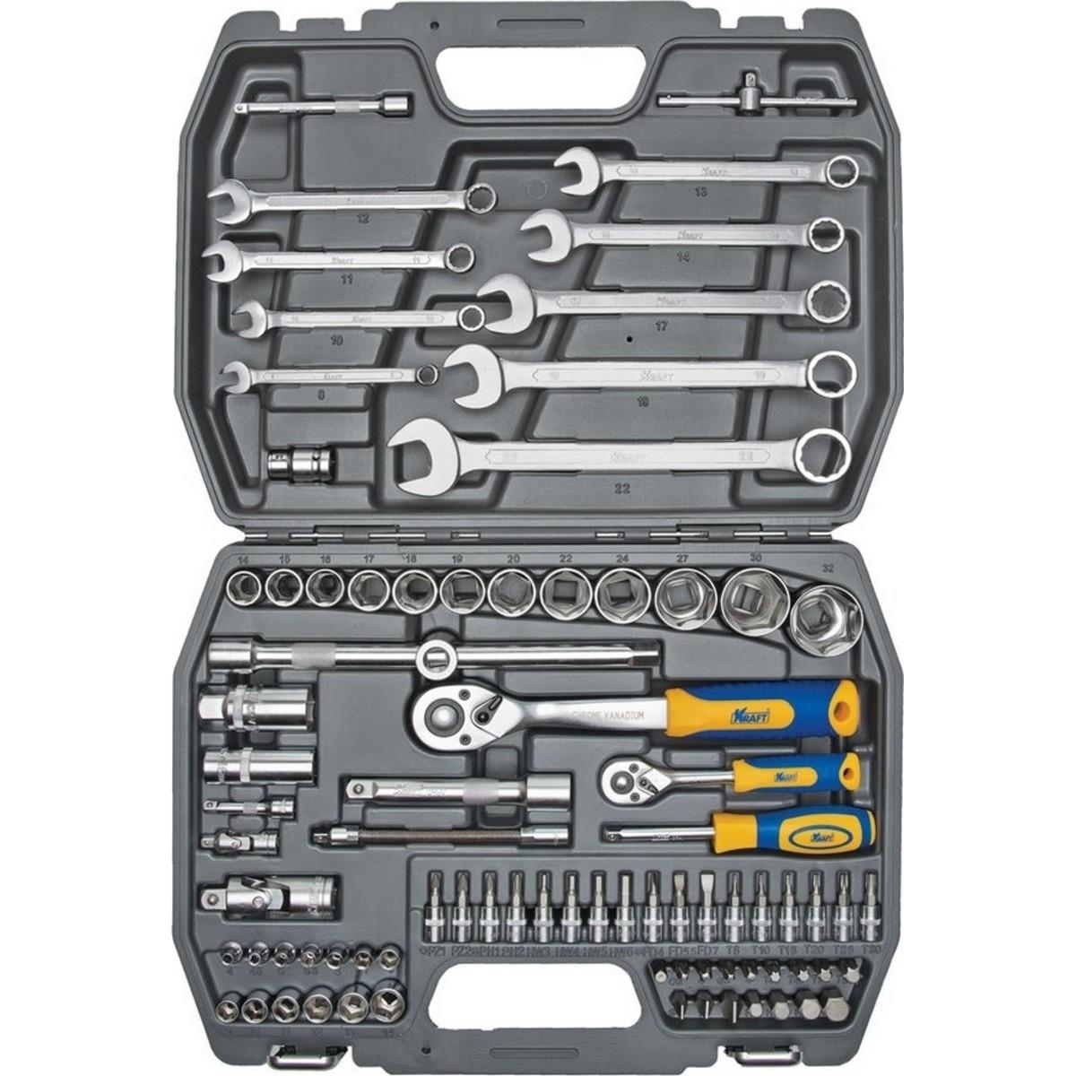 Набор ручного инструмента Kraft KT 700305