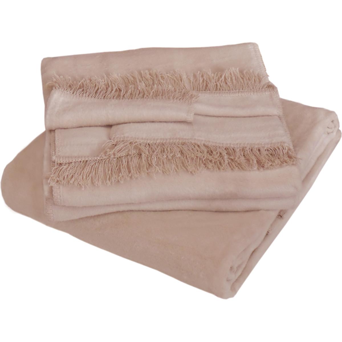 Набор накидок на мягкую мебель PATERS Cotton Пастила 150х200 см