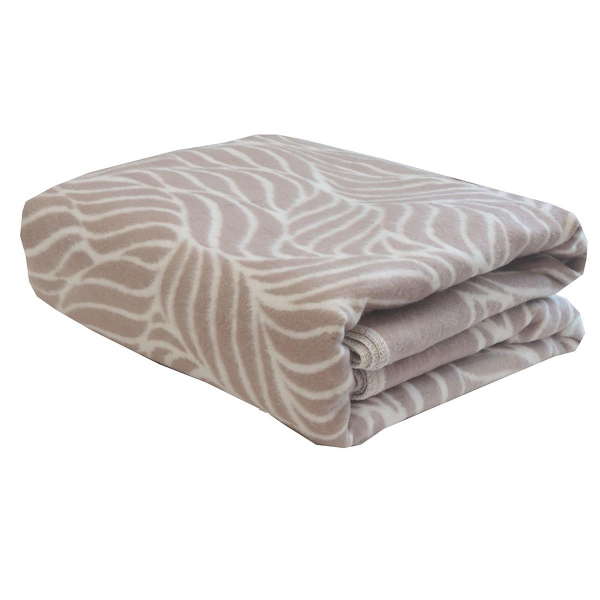 Одеяло Ермолино Кофейный орнамент 150х205 см байка
