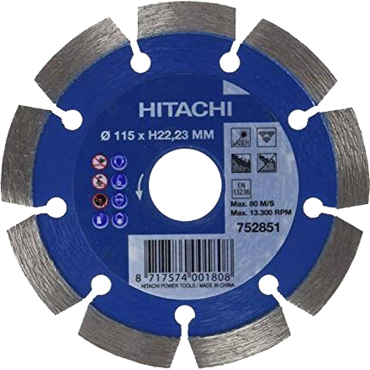 Диск Алмазный Hitachi Htc-752851
