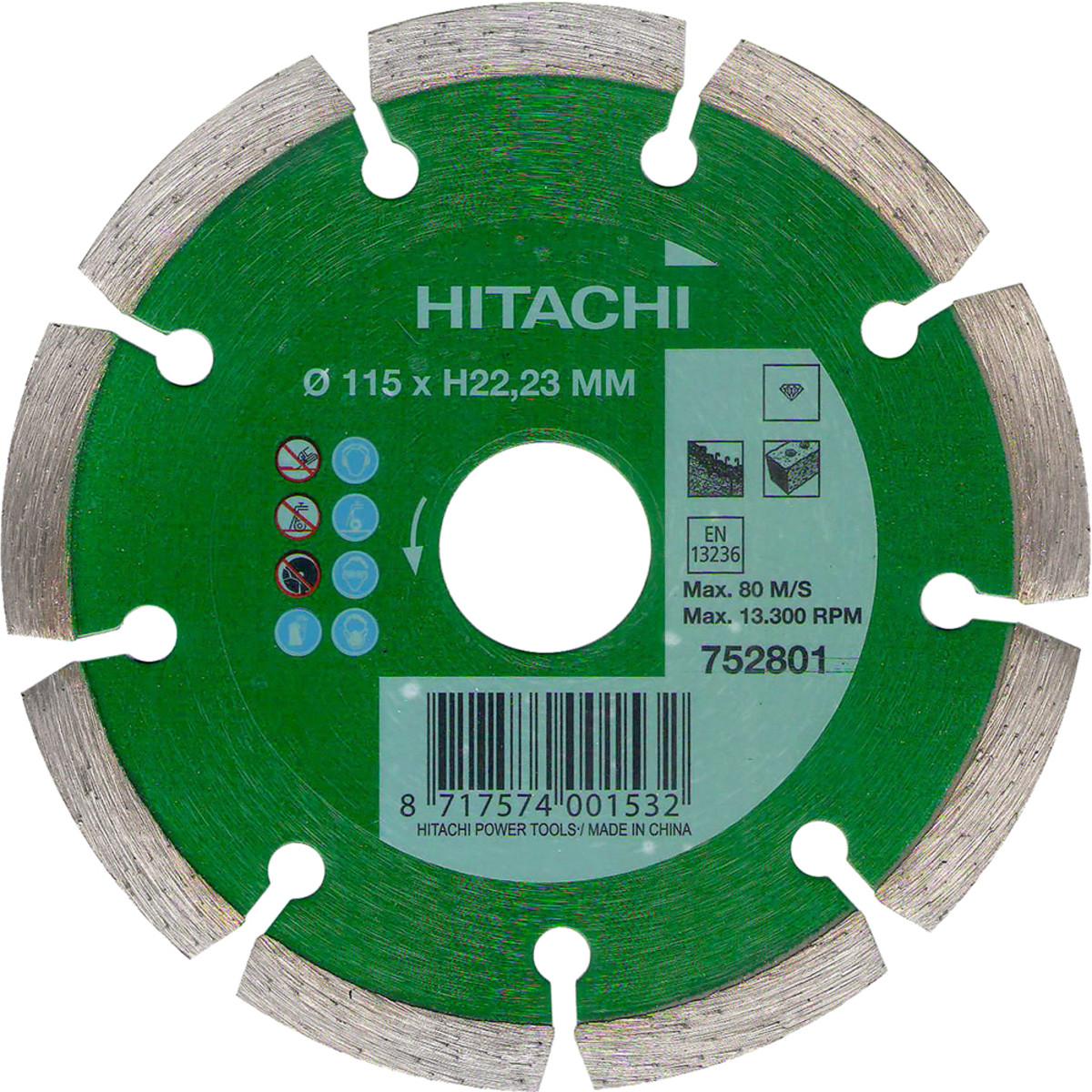 Диск Алмазный Hitachi Htc-752801