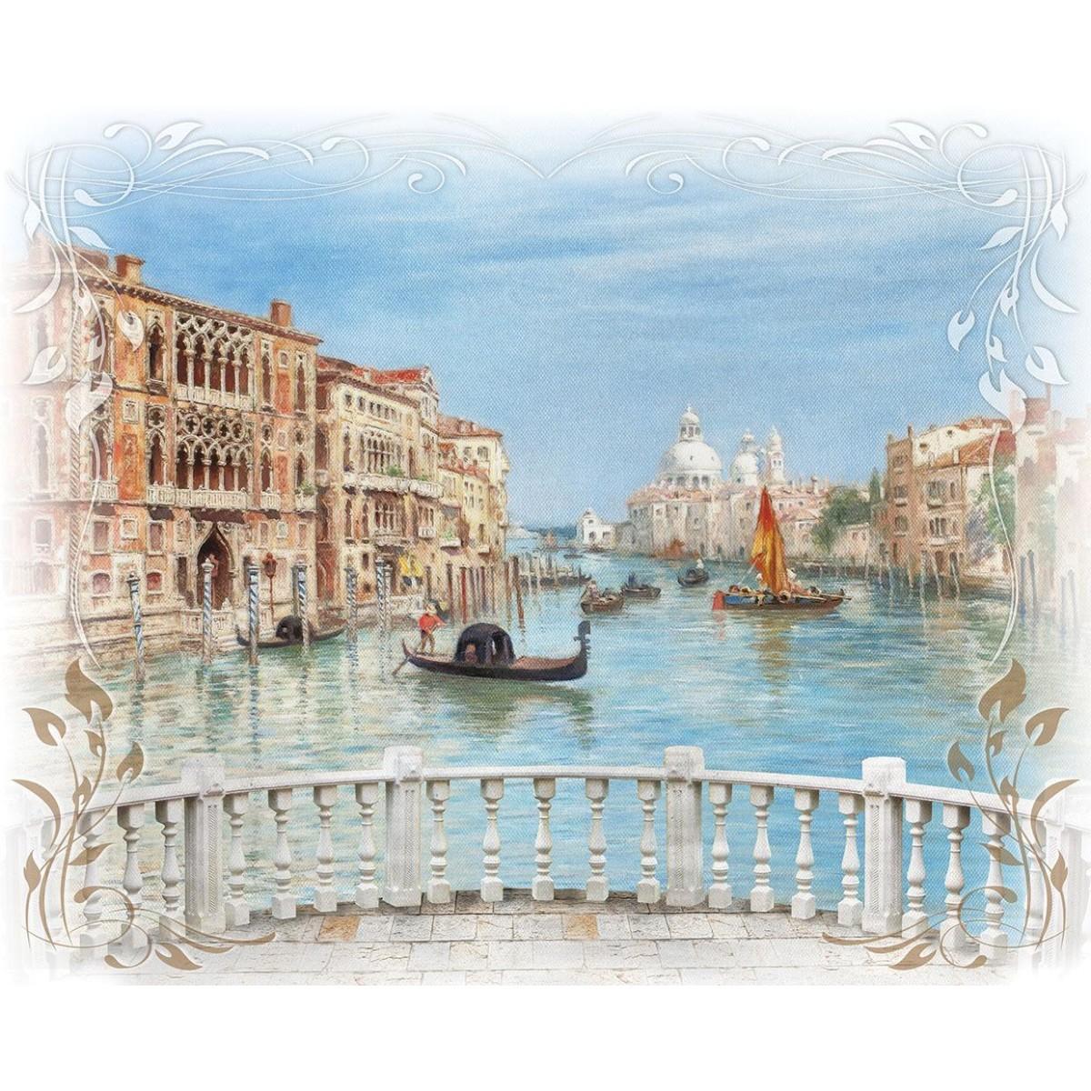 Декоративное панно Твоя планета Венецианский мост 254х318 см