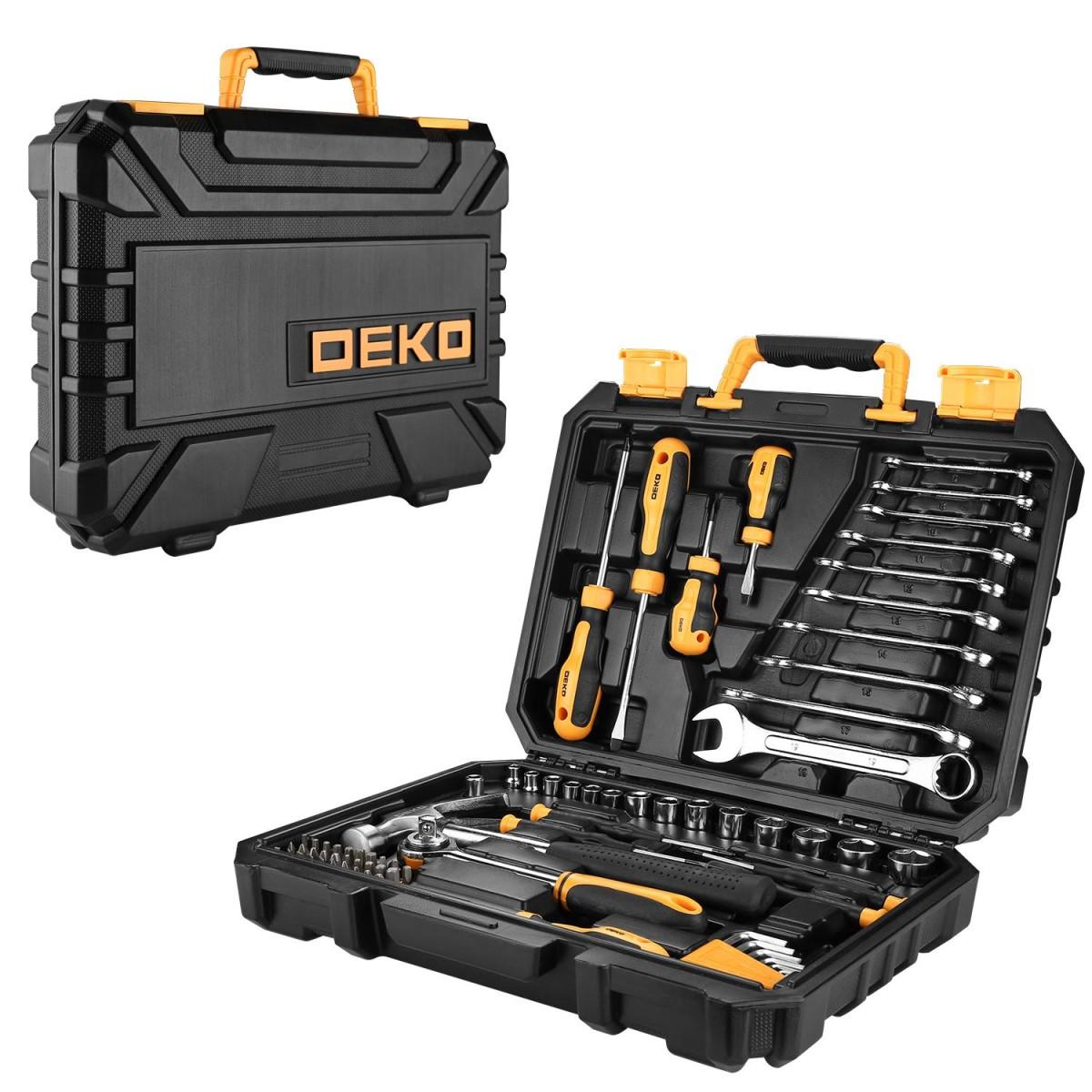 Набор ручного инструмента DEKO DKMT74 065