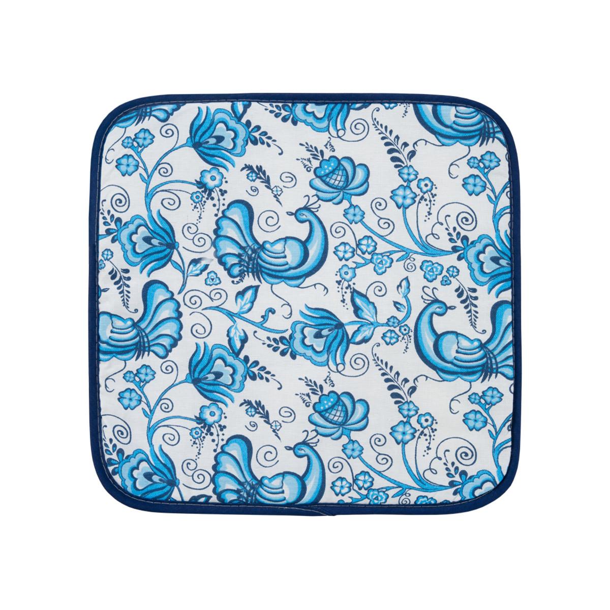 Подушка на стул Guten Morgen Синяя птица 40х40 см